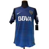 Camiseta Boca Juniors 2016-2017 Alternativa Azul Nike