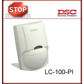 Dsc Lc100-sensor Movimiento Detector A/mascotas Pir Alarma