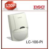 Pack 4 Dsc Lc100-sensor Movimiento Detector A/mascotas Pir
