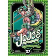 Manga Jojo's Bizarre Adventure Parte 2:battle Tendency #2