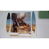 Skin Ps3 Slim Uncharted 3 + Envio Gratis