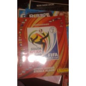 Livro Ilustrado Copa Africa 2010 (incompleto)