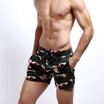 Seobean Camoflage Traje Bano Short Gym Corto Tarda 4 Semanas