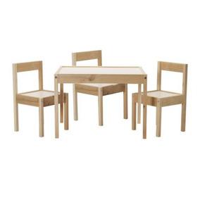 Ikea Tabla Niños Y 3 Sillas