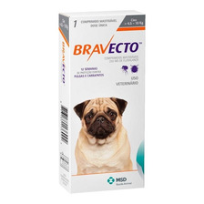 Bravecto Antipulgas E Carrapatos P Caes De 4,5 A 10kg Lpo