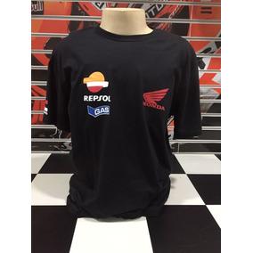 Camiseta Repsol Preta Honda Motogp