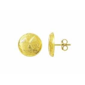 Brinco Escrava Egito 1.5 Cm Ouro 18k