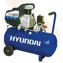 Compresor De Aire Hyundai Electrico 2hp 50 Lt 110v Hyc50ld