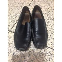 Zapatos De Caballeros Bass Numero 41 De Cuero Originales