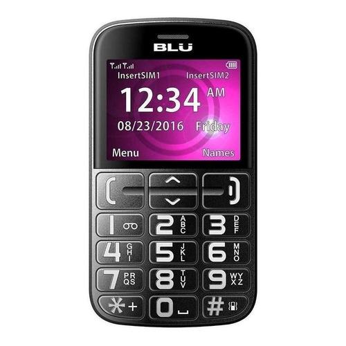 BLU Joy Dual SIM 32 MB Preto/Prata 24 MB RAM