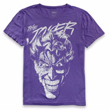 Camiseta Dc Comics Coringa Purple Oficial