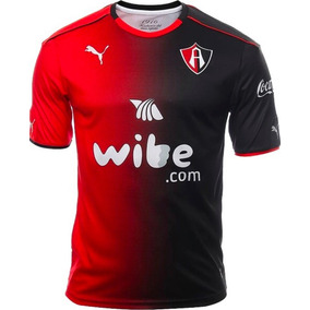 Jersey Oficial Original Rojinegros Atlas Local Puma 16-2017