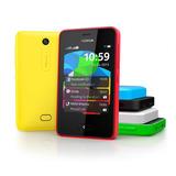 Nokia Asha 501 Nuevo De Paquete Blancos Homologados 85.00==