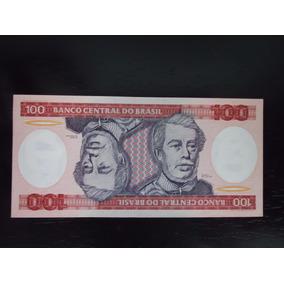 Nota Cédula 100 Cem Cruzeiros 1984 Fe C 157 Duque De Caxias