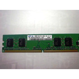 Memoria Sansumg 256mb Ddr2 400mhz Pc2-3200 Para Pc