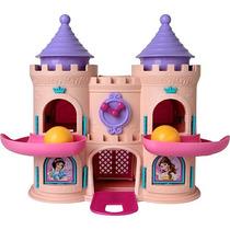 Castelo Escorrega Bolinha Princesas Da Disney Original- Elka