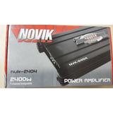 Amplificador Mosfet Nvk-2404 - 4 Canais - Novik Neo