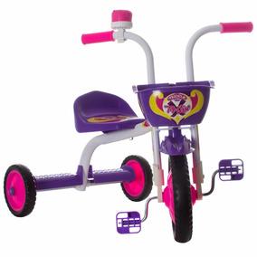 Triciclo 3 Rodas Bicicleta Infantil Menina Ultra Bike Roxa