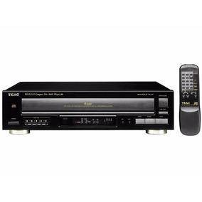 Compact Disc Multi Player Teac Pd-d2610 Carrossel 5 Cds Mp3