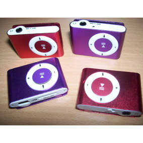 Reproductor Mp3 Musica Shuffle + Audiofonos + Cable Usb
