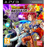 Dragon Ball Battle Of Z Ps3 Digital Tenelo Hoy!!
