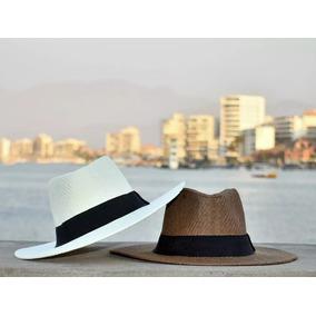 Bonito Sombrero Blanco Para Playa - Ropa y Accesorios en Mercado ... 31a0f503f7d