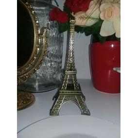 Torre Eiffel De Metal De 25 Cm De Altura X 10 Cm De Ancho