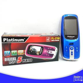 Mp 5 Digital Platinum De Alta Potencia 4gb Almacenamiento Tj
