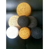 Adornos Esferas/bolas Decorativas Centros De Mesa De Hilo