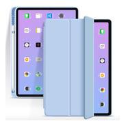 Capa Smartcase Para iPad Air 4 10.9  Suporte Pencil Azul Cl