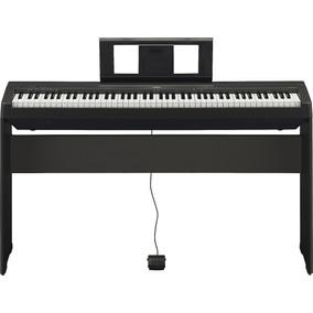 Piano Yamaha P45 + Suporte L85 | Com Fonte | Nfe | Garantia