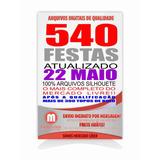 525 Kit Festas Prontas Só Arquivos Silhouette + Topo De Bolo