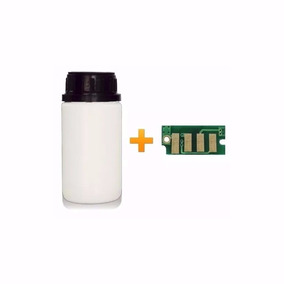 Pó De Toner Preto + Chip Para Impressora Scx-3200