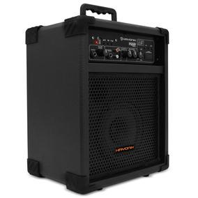 Caixa De Som Amplificada Com Usb E Bateria Interna+controle