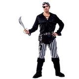 Fantasia Masculina Adulto Pirata Luxo Arrase Na Festa Envio
