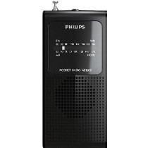 Rádio Philips Portátil A Pilha Am/fm Ae-1500 Pequeno