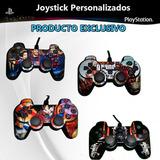Joystick Cableado Ps3 Personalizados Varios Diseños