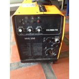 Maquina De Soldar Hari Arc Mig 200 / Micro Way Y Barillas