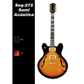 Guitarra Semi Acustica Hurricane Seg 272 - Hendrix