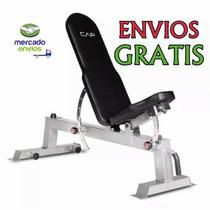 Banca De Ejercicio Cap Barbell Reclinable(multiposicion)gym