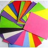 Foami Tamaño Carta Colores Surtidos Precio X Unidad