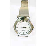Reloj Brazalete D Lujo Para Mujer En Acero Inoxidable Quartz