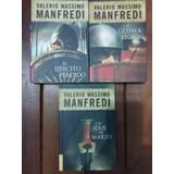 Valerio Massimo Manfredi - Lote De 3 Libros Nuevos
