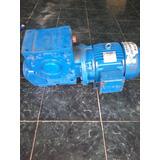 Motor Reductor De 7,5 Hp Trifasico