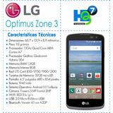 Lg Optimus Zona 3, Libre De Origen, Características En Foto