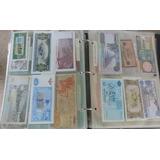 Colección Billetes Antiguos De Todo El Mundo (única En Vzla)