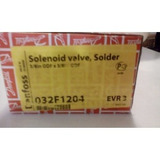 Cuerpo De Valvula Solenoide Danfoss 1/4 Soldable Sin Bobina