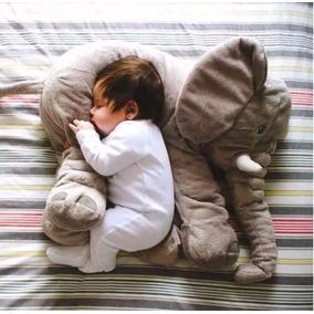 Almohada De Elefante, Peluche De Elefante 60cm Babynova