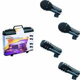 Kit 4 Microfonos Para Bateria Kp-drums Audio-technica Nuevos