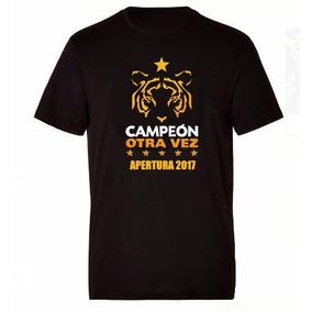 Camiseta Conmemorativa Tigres Campeón Apertura 2017